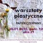 warsztaty plastyczne2016