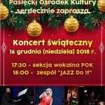 koncert swiateczny 16.12.2018 s