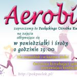 aerobik plakat poziom